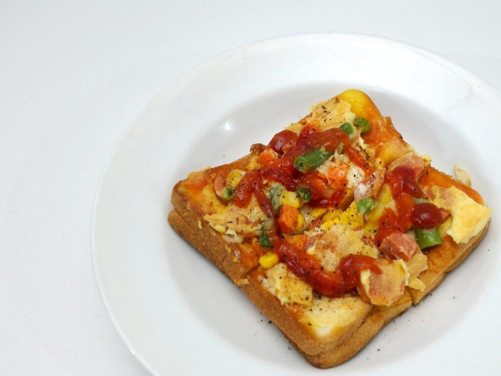 Roti pangling - sarapan ala bule