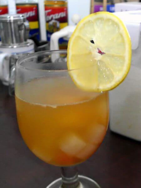 Lemon Tea Koktail Buah