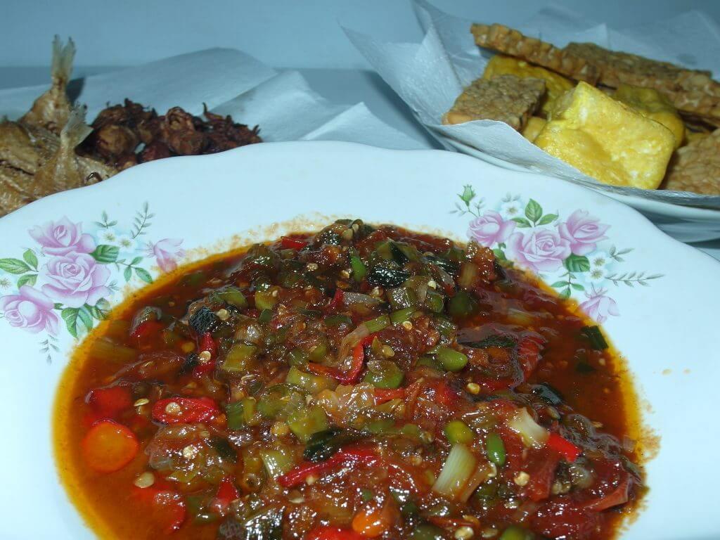 Sambal Boedjang - resep sambal tanpa cobek
